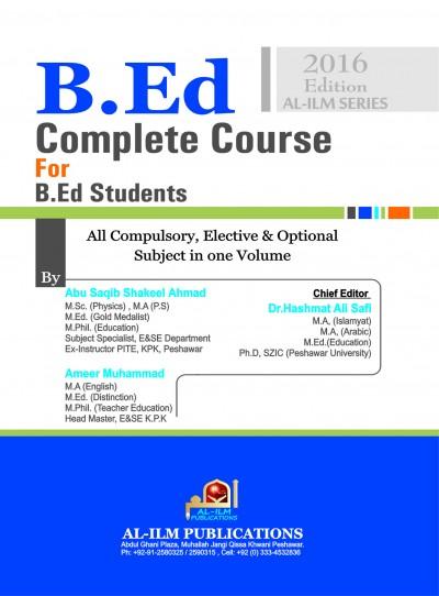 http://eislamicshop.com/B.Ed complete course